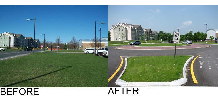 OCC Before After Roundabout