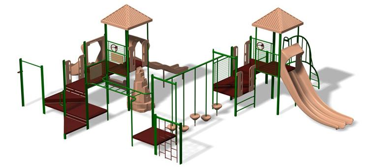Heuvelton playscape