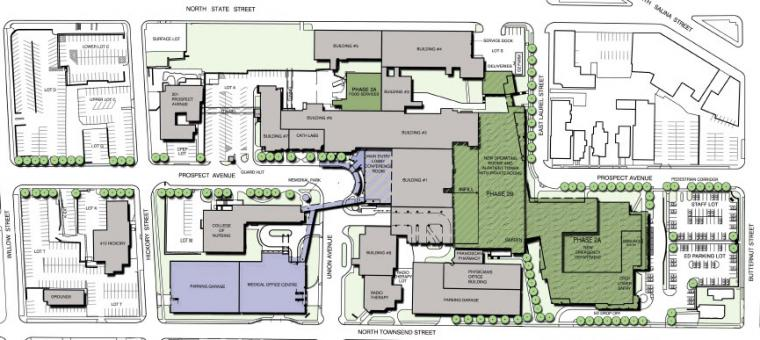 St Joseph's Hospital Health Center Master Plan
