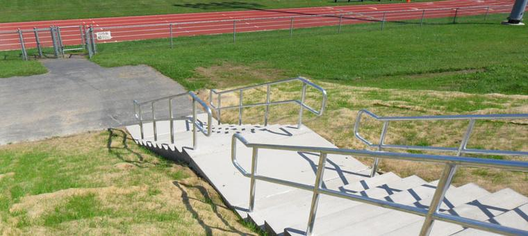 Weedsport stairs