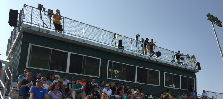 Press Box Camera Deck